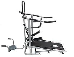 Krazy Kamachi Manual Treadmill (4 In 1)