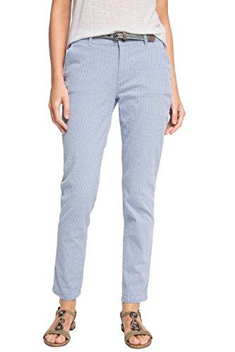 ESPRIT - Chino Slim Pantaloni  Donna, Multicolore (LIGHT BLUE 440), 48 IT (Taglia del produttore: 44)