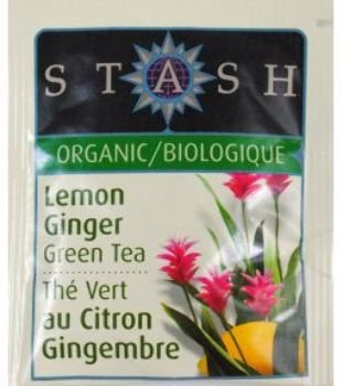 Stash Organic Tea Premium Lemon Ginger Green Tea [108 Pieces] *** Product Description: Stash Organic Tea - Premium Lemon Ginger Green Tea Single Bag In Sealed Packet Of This Organic Tea. This Organic Tea Packet Is The Easy Way To Always Have Tea ***