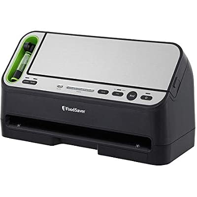 Food Saver 2-in-1 Vacuum Sealer Combo with Fresh Saver ,Fully Automatic Operation- Removable Drip Tray -Rapid Marinate Mode from FoodSaver