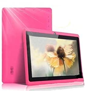 "7"" inch Touch Screen Allwinner A13 1.0GHz CPU  Android 4.0 Tablet PC 4GB HDD 512MB WiFi (Pink) by Generic"