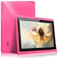 "7"" inch Touch Screen Allwinner A13 1.0GHz CPU  Android 4.0 Tablet PC 4GB HDD 512MB WiFi (Pink)"