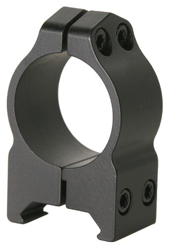 Warne-Scope-Mounts-Medium-Matte-Permanent-Attach-Rings-1-Inch