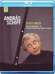 Andras Schiff plays Bach - French Suites Nos. 1-6/Overture in the French Style in B minor [Blu-ray]