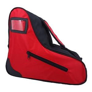 Red Roller Skate Bag - Red Ice Skate Sack - Roller Derby Tote by Epic Skates