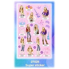 Hannah Montana Super Sticker Sheet Style #27028
