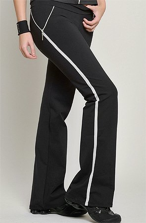 Jazz pants yoga sports fitness bottoms womens