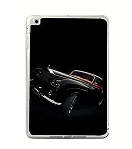 ifasho Vintage Car Back Case Cover for Apple IPad Mini 4