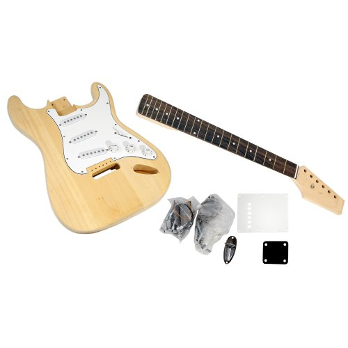 PYLE-PRO PGEKT18 Unfinished Strat Electric Guitar Kit