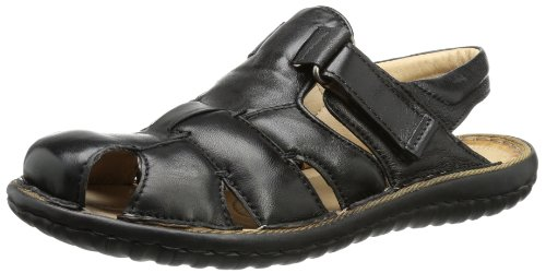 Mjus Mens 358146 Sandals Black Schwarz (NERO) Size: 8 (42 EU)