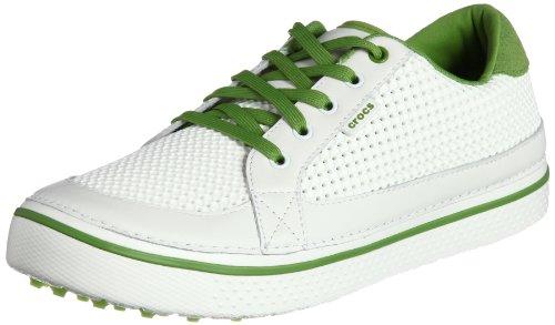 [クロックス] CROCS Drayden  18975-16J-660 white/parrot green(white/parrot green/M9)