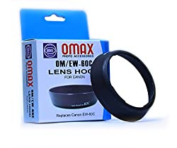 Omax EW-60C Lens Hood For CANON EF-S 18-55mm F/3.5-5.6 Lens