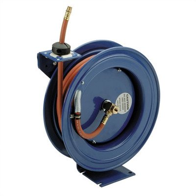 Coxreels Air Hose Reel With Hose - 3/8in. x 50ft. Hose, Max. 300 PSI picture