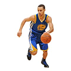 Buy Fathead NBA Golden State Warriors Stephen Curry Junior Wall Graphic by Fathead