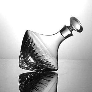 Amazon.com: Ravenscroft Engraved Crystal Beveled Orbital Magnum