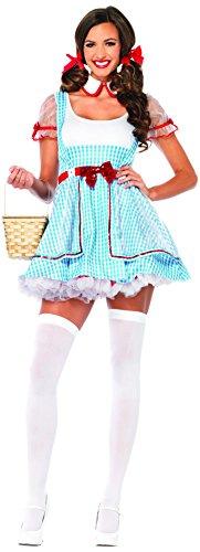 Leg Avenue Women'S 2 Piece Oz Beauty, Blue/White, Small/Medium