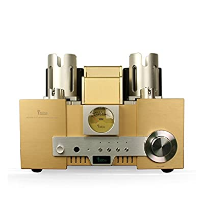 YAQIN MS-650B 845*2 Class A Single Ended Integrated Tube Amplifier with Remote Control by YAQIN