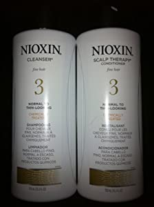 Nioxin System 3- Cleanser & Therapy 25.3oz Pack Duo