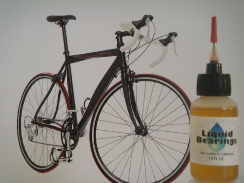 Liquid Bearings 100%-synthetic Oil for Schwinn Bicycles, Provides Superior Lubrication and Also Prevents Rust!!