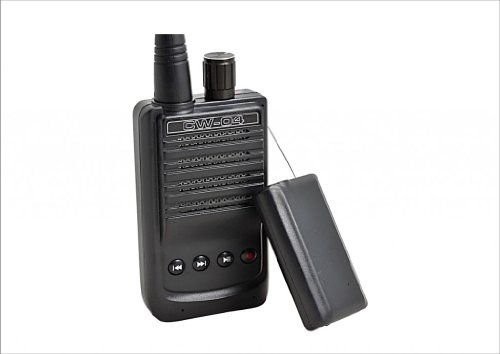 Cw-04 Miniature Wireless Audio Transmitter-Receive Recording High Sensitivity Pickup Mic Spy Bug