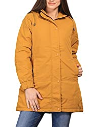 Duke Stardust Mustard Coloured Jacket Made From Nylon Synthatics