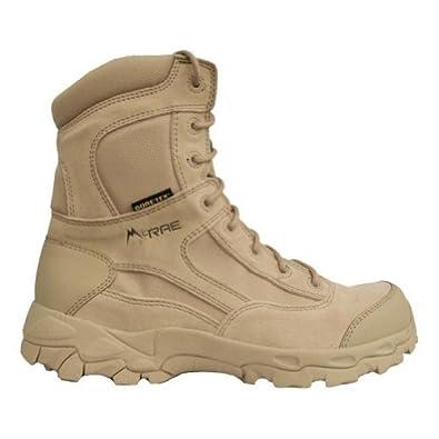 McRae 3895 Men's Temperate Weather Terassault Tactical Boot w/Toe and Heel Rands Desert Tan 5 M US