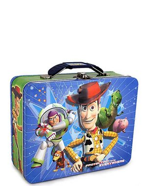 Back to School Saving - Walt Disney Pixar Toy Story Tin Lunch Box with Bonus Toy Story Wallet