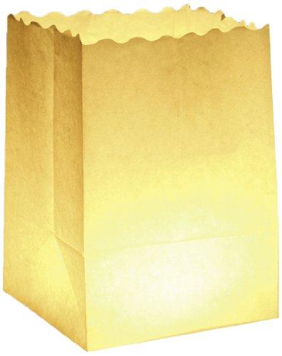 Wenko 8554100 Lichtertüte LUMINARIA Uni klein - 10er Set,...