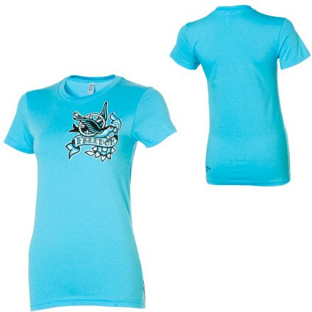 Buy Low Price Twin Six Freedom T-Shirt – Short-Sleeve – Women's (B008OYO55A)