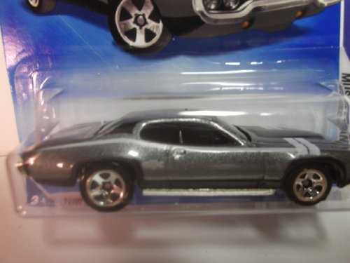Hot Wheels Gray 71 1971 Plymouth Gtx Muscle Mania 2009 4