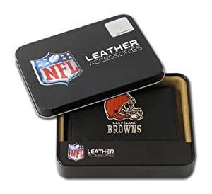 Rico Cleveland Browns Embroidered Tri Fold Wallet by Rico