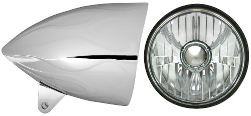 Passenger side WITH install kit 2011 Peterbilt MODEL 365 Side Roof mount spotlight -Chrome LED 6 inch