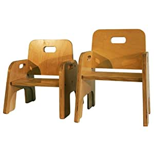 Anatex 10 Seat Height Stacking Chair Toys