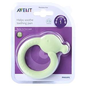 Philips AVENT SCF890/01 Animal Front BPA Free Teeth Teether