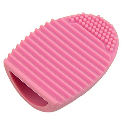 cleaning-makeup-washing-brush-silica-glove-scrubber-board-cosmetic-clean-tools-pink
