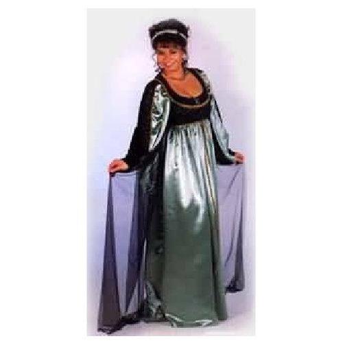 Maid Marion Marian Red Renaissance Princess Dress Up Halloween DLX Adult Costume
