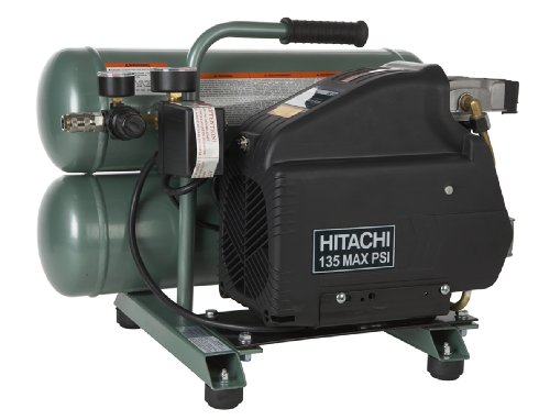 Hitachi EC89 4 Gallon Twin Stack Air Compressor