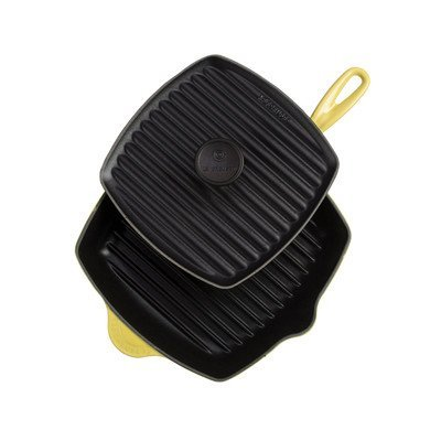 how to clean le creuset panini press