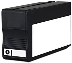 ink4work Remanufactured HP 932XL Black Ink with New Chip (Shows INK LEVELS) For OfficeJet 6100, 6600, 6700