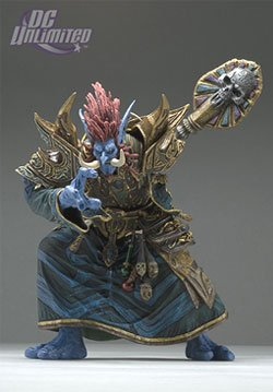 World of Warcraft 2: Troll Priest: Zabra Hexx Action Figure