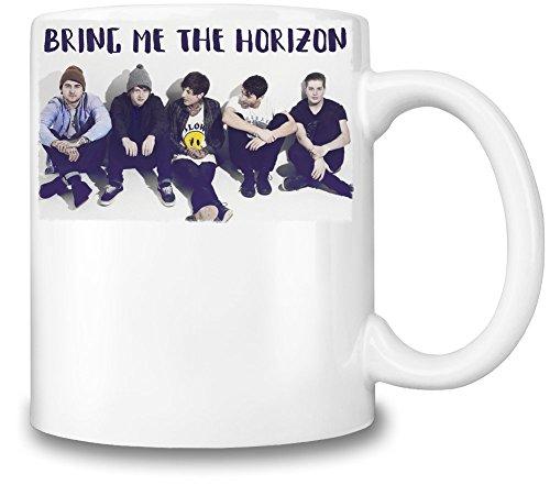 Bring Me The Horizon Tazza Coffee Mug Ceramic Coffee Tea Beverage Kitchen Mugs By Genuine Fan Merchandise
