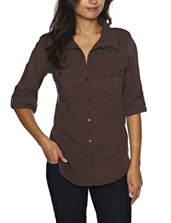 With shades ranging from light brown and cream to copper and rust, our collection of women's brown tops is our go-to for Monday-to-Sunday staples.