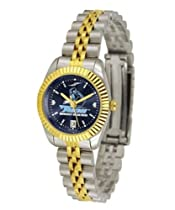 San Diego Toreros Ladies Gold Dress Watch