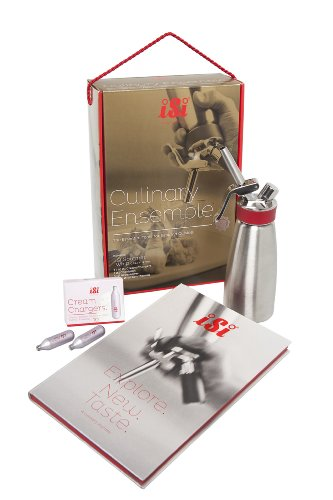iSi North America 1608011 Culinary Ensemble with 1-Pint Gourmet Whip and Accessories