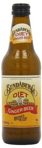 Bundaberg Diet Ginger Beer 340 ml (Pack of 12)
