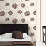 Crown Mimosa Wallpaper - Chocolate
