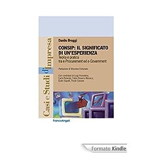 Consip: il significato di un'esperienza. Teoria e pratica tra e-Procurement e e-Government: Teoria e pratica tra e-Procurement e e-Government (Casi e studi d'impresa)