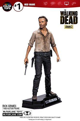 Color tops red wave the walking dead: Rick Grimes 7-inch action figure (Dead Red Ca compare prices)