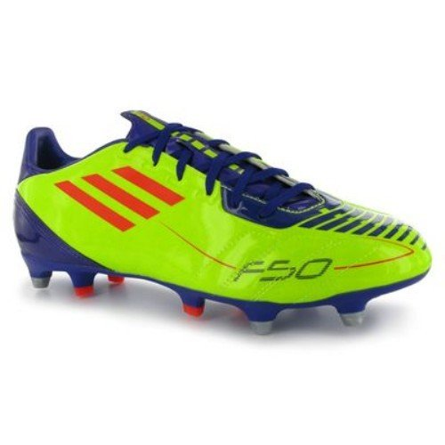 adidas F10 TRX SG Mens Football Boots Electric/Infrared 8 UK