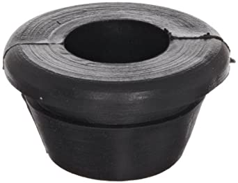 "PVC (Polyvinylchloride) Quick Fit Grommet, .57"" OD, .32"" Thickness for .06"" Panel (Pack of 25)"